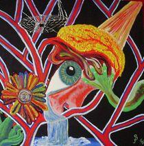 Auge im Arteriennetz von Susanne Klein