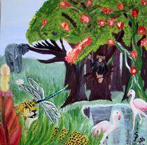Tiere am See von Susanne Klein