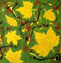 Herbst abstrakt von Susanne Klein