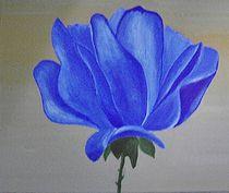 Rose blau by ksteffen