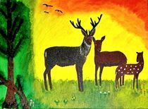 Hirschfamilie von ksteffen