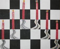 Op-Art  Kerzen von ksteffen