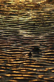 goldene Ebbe/golden low tide von Ulrike Linn