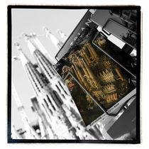 Sagrada Familia - Postkartenansicht by martina braun-rodmann