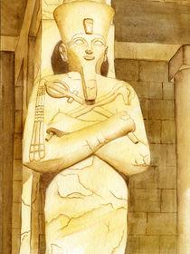 Hatschepsut - einzige äpyptische Herrscherin von Nina Vahrenkampf