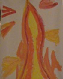 Fire Flames von Elvis Altherr