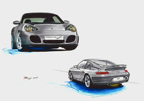 Porsche 911 (996) Turbo von rdesign