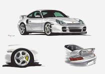 Porsche 911 996 GT2 von rdesign
