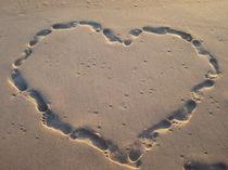 Herz im Sand von Isabell Krauße