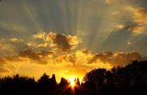Sonnenuntergang von Isabell Krauße