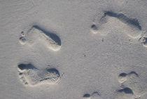 Füsse im Sandstrand von Peggy Liane Pforte