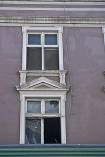 Hausruine, Fenster mit Ausblick by Peggy Liane Pforte
