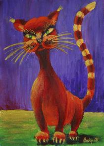 Rote Katze von Cathleen Ahrens
