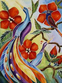 Paradiesvögel von Cathleen Ahrens