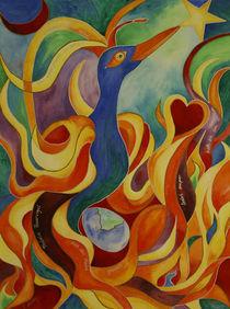 Phönix Feuervogel von Cathleen Ahrens