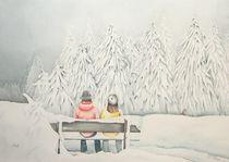 Fuchs im Winterwald by Ingrid Nagl-Zeiler