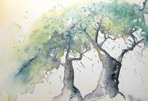 Olivenbäume von Ingrid Nagl-Zeiler