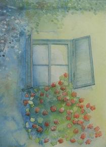 Blumenfenster von Ingrid Nagl-Zeiler