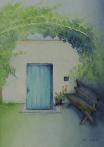 Weinlaube von Ingrid Nagl-Zeiler