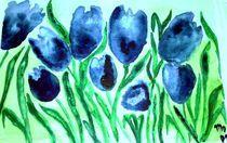 Tanz der blauen Tulpen von mo08
