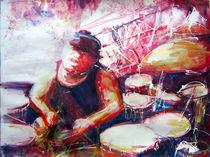 The drummer von Renée König