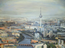 Vogelflug über Berlin von Renée König