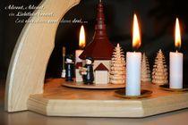 Advent, Advent, ein Lichtlein brennt. by Juana Kreßner
