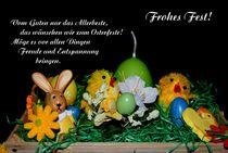 Frohe Ostern! von Juana Kreßner