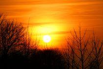 Die Sonne am späten Abend von Juana Kreßner