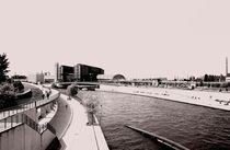 Blick auf den Berliner Hauptbahnhof von Juana Kreßner