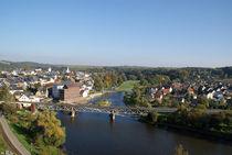 Muldenbrücke in Rochlitz by Juana Kreßner