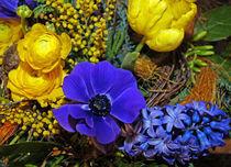 Blumen-Arrangement  by Juana Kreßner