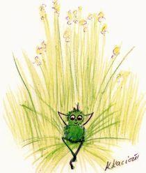 Ein Floh  - Un Mustic  by Katrin KaciOui