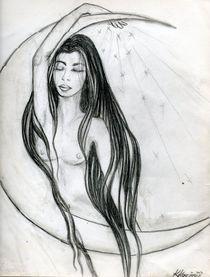Le rêveur - The dreamer - Die Träumende  von Katrin KaciOui
