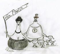 Weinprobe oder Viva Familia  von Katrin KaciOui