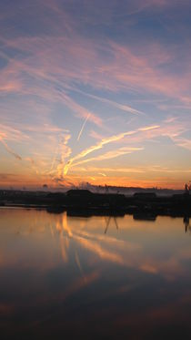 Reflections in the River Medway by Jackie Hagan