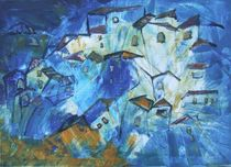 Blaue Toscana by Sonja Zeltner-Müller