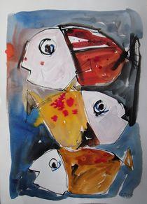 wilde Fische von Sonja Zeltner-Müller