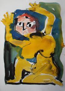 gelbes Weib von Sonja Zeltner-Müller