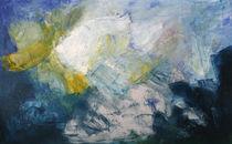 Abstrakte Welt blau by Sonja Zeltner-Müller