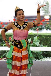 Thai Tänzerin von Michael Guntenhöner