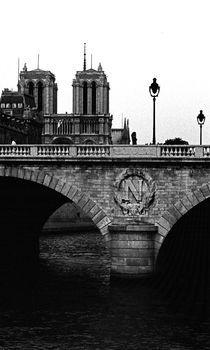 Seinebrücke in Paris von Michael Guntenhöner
