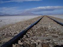 Bahnlinie Bolivien - Chile by Schernberg Erwin