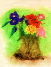 Blumengruss by Heidrun Gonschorek