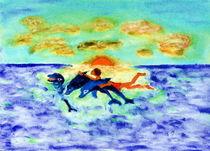 Delphin by Heidrun Gonschorek