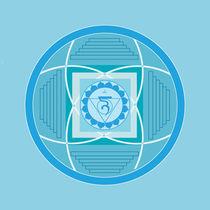 Stirn-Chakra Mandala von silestin