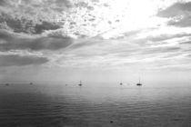 Bodensee mit Segelbooten by Michaela Werner