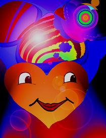 Flötendes Herz 2 von uschka
