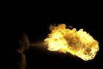 Feuerspucker von Enrico Heuer