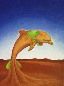 Wüstendelphin by Harald Hüttl